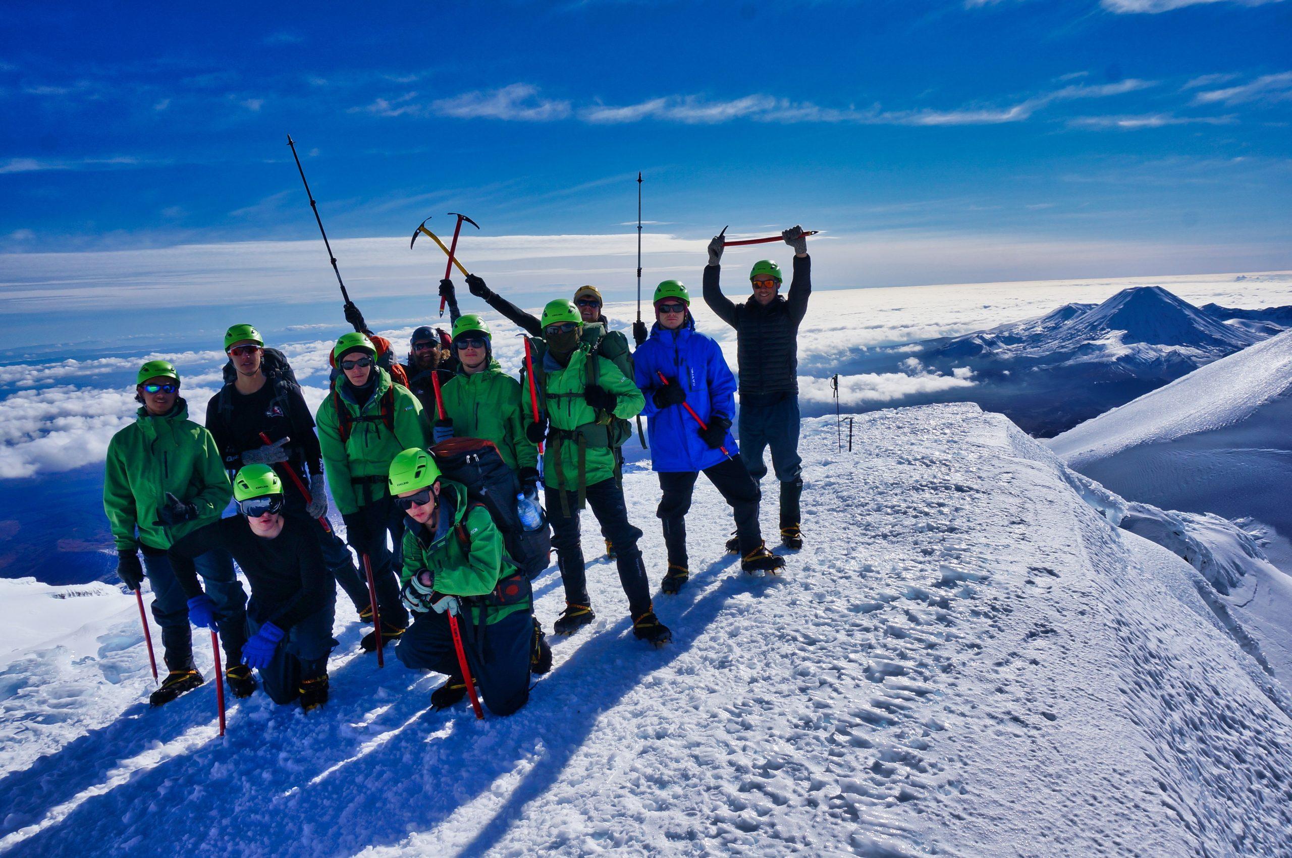 Mountaineering-group